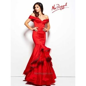 Dresses & Skirts - Mac Duggal Red Gown
